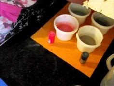 How to make a reverse gradient colored budnt cake soap.  Natures Garden soap making supplies.