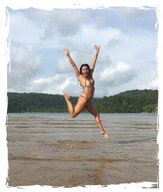 "Eva Longoria flaunted her toned figure in a white bikini while on her honeymoon with new husband Jose ""Pepe"" Baston! See the rest of her honeymoon pics!"