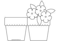 Mother's Day Flower Pot Craft -Easy gift for kids to make for Mom! Mothers Day Flower Pot, Mothers Day Crafts, Flower Pot Crafts, Flower Pots, Potted Flowers, Diy And Crafts, Paper Crafts, Mother's Day Diy, Classroom Crafts
