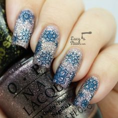 Winter theme continues with snowflakes! - Lucys Stash