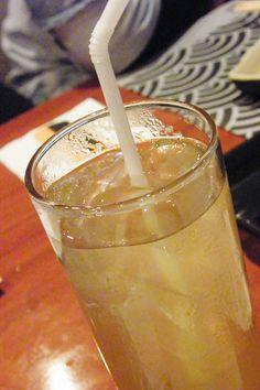 """""""Cold Ocha"""" - IKUZE Restaurant, Sushi All You Can Eat Menu (9.5.13)"""