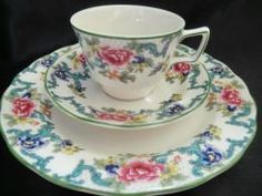 Royal Doulton 'Floradora' This is my best china set.Collected for me by my late Mum. Very special