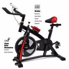 Bicycle Cycling Fitness Gym Exercise Stationary Bike Cardio Workout Home  Indoor 46d92ddf6b2