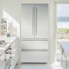 Refrigerador CS 2062 -  Refrigerador de piso e de embutir CS 2062 todo em aço inox, 585 litros, 91cm de largura, de piso ou de embutir. #LIEBHERR #REFRIGERADOR