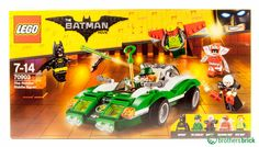 Read our hands-on review on The Brothers Brick.  The Brothers Brick -   70903 The Riddler Riddle Racer