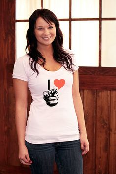 not the perfect Valentine tee, but cute :)