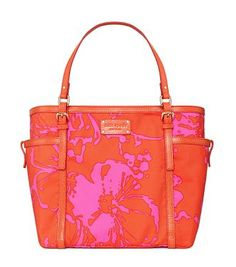Pink and orange Kate Spade bag....have it and love it!