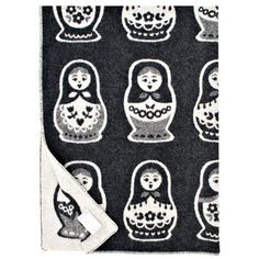 Maatuska Blanket 130x180 Black