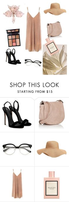 """""""my night 🌃"""" by emina-la ❤ liked on Polyvore featuring Giuseppe Zanotti, Deux Lux, Charlotte Tilbury, Old Navy, Sans Souci and Gucci"""
