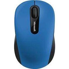 Microsoft Bluetooth Mobile Mouse 3600 Bluetooth muis BlueTrack Zwart Blauw  De nieuwe Bluetooth Mobile Mouse 3600 biedt draadloze vrijheid zonder storende stekkers adapters of dongles en maakt snel en betrouwbaar via de Bluetooth Smart-technologie ... Klik verder voor meer info.  EUR 30.49  Meer informatie