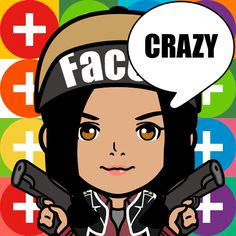 Make ur own cartoon characters on App Store it is called face q