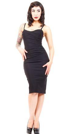 Stop Staring! Million Dollar Baby Dress in Black