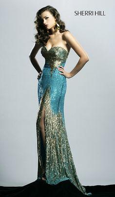 Sherri Hill 11054 Short Lace Prom Dress | A lil on the fancy side ...