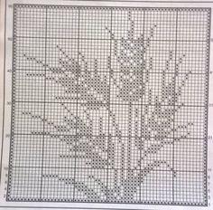 @nika Crochet Curtain Pattern, Crochet Curtains, Crochet Doily Patterns, Weaving Patterns, Crochet Doilies, Crochet Stitches, Cross Stitch Pattern Maker, Cross Stitch Art, Cross Stitch Flowers