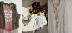 American faded tee, worn biker boots, aztec print shawl, ripped Levi jeans are all you need for your own little Coachella wherever you go this summer