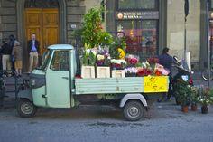 I T A L I A N c o n f e t t i: Flower Truck