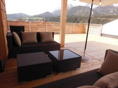 3 Bedroom Penthouse in Haus im Ennstal to rent from £675 pw, within 15 mins walk of a Golf course. Also with jacuzzi and balcony/terrace.