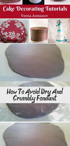 Dry and crumbly fondant can be a huge problem faced by cake decorators on a daily basis. This is a great tip by Robin Apted for our Tip Thursday today on how to avoid it. Italian Wedding Cakes, Wedding Cake Rustic, Fondant Tips, Wedding Cake Flavors, Cake Decorating Tutorials, Cake Tutorial, Love Cake, Wedding Styles, Thursday