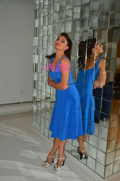 Jacqueline is one of Bollywood's trendiest actresses, and doesn't shy from trying quirky clothes