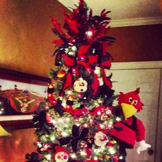 Gamecock Christmas Tree ! Is this Jan or Missy's?