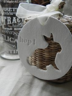 Clay & cookie cutter decor