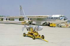 A USAF Strategic Air Command Boeing B-52B Stratofortress.