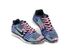 half off 5d0be fca5b Authentic Nike Shoes For Sale, Buy Womens Nike Running Shoes 2014 Big  Discount Off Nike Free TR Fit 3 Print Blue Pink White Womens Shoes   -