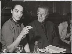 Bona de Mandiargues with André Breton
