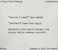 """396 Likes, 4 Comments - Commas And Half Strokes (@atcommasandhalfstrokes) on Instagram: """"7 Days - 7 Tales Challenge.  Day 1.  The winning tale on 'Perfect' by Sahil Nathani.…"""""""