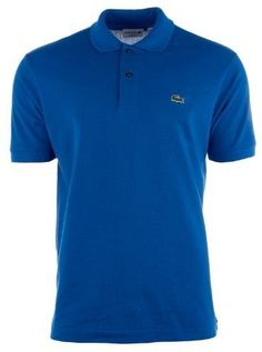 Lacoste Short Sleeve Pique L.12.12 Classic Fit Polo Shirt - Olympus - Mens - 4