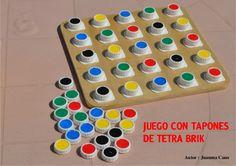 Autor : Juanma Cano JUEGO CON TAPONESJUEGO CON TAPONESJUEGO CON TAPONESJUEGO CON TAPONES DE TETRA BRIKDE TETRA BRIKDE TETR...