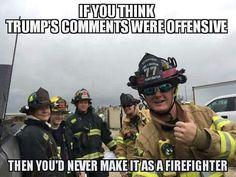 Firefighter Funny Meme Volunteer Firefighter Quotes, Firefighter Memes, American Firefighter, Firefighter Training, Firefighter Pictures, Female Firefighter, Firefighter Decals, Fire Training, Fire Dept
