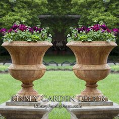 Genial Kinsey Garden Decor Tall Smithsonian Flight Of Fancy Cast Stone Outdoor Urn  Planters. Ornate,