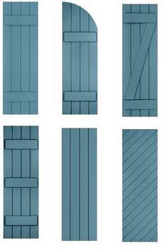 barn shutters - Google Search