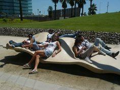 Resultado de imagem para parque diagonal mar barcelona BANCO