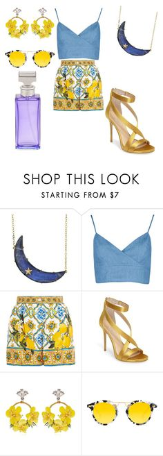 """""""springtime"""" by shannongarner on Polyvore featuring Andrea Fohrman, Dolce&Gabbana, Imagine by Vince Camuto, VANINA, Krewe and Calvin Klein"""