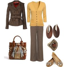 fall work outfit - different accessories LOVE THIS!!!