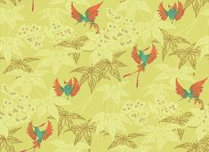 Grove Garden - Osborne & Little Wallpapers - An exotically coloured jade and pink feathered hummingbird darting between metallic gold and pale green foliage on a mint green background. Please ask for sample for true colour match. Wallpaper Stencil, Wallpaper Uk, Bathroom Wallpaper, Iphone Wallpaper, Wallpaper Ideas, Osborne And Little Wallpaper, Teal Rooms, Pink Mushroom, Willow Springs