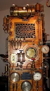 steampunk fridge