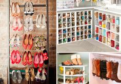 12 ideias para organizar seus sapatos