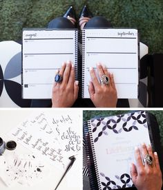A new neutral color scheme is coming with the 2017 #ErinCondren Life Planner. Look how stunning it is... with a black coil and everything!