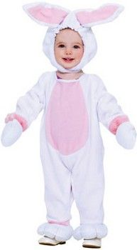 Kids Rabbit & Bunny Costumes: Plush Bunny Costume (more details at Halloween-Kids-Costumes.com) #Easter #Halloween #costumes