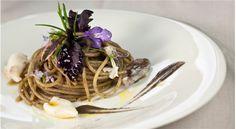 Spaghetti con quinto di calamaretti e rosmarino dello chef Marianna Vitale