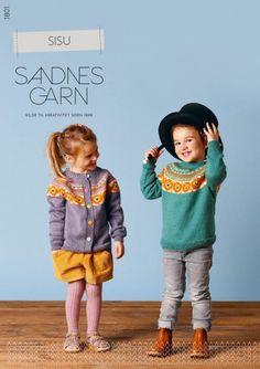 Hefter - Barn - Sandnes Garn Knitting For Kids, Sewing, Knits, Style, Fashion, Stapler, Threading, Swag, Moda