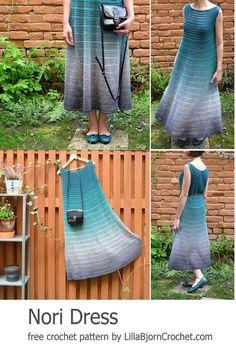 NORI Dress: FREE crochet pattern
