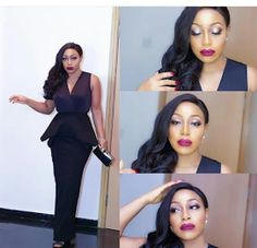 Oga Madam Rita Dominic outfit to Vanguard award   Rita Dominic's Outfit To Vanguard Personality Of The Year Award..  Vanguard personality of the Year award held on Friday at the Eko Hotel and OMG Rita Dominic who was one of the invitees Killed this look......  She is so beautiful and whoever her make up artist is needs a standing ovation!  http://ift.tt/1N2xb1F