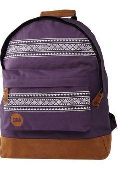 Mi-Pac Purple Nordic Backpack