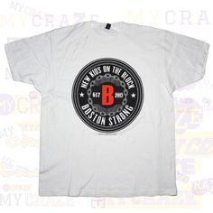 NKOTB New Kids on the Block Boston Strong T-Shirt #NewKidsOnTheBlock #GraphicTee #BoyBand #NKOTB
