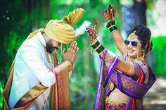 प्रतिमेत याचा समावेश असू श्ाकतो: 1 व्यक्ती, उभा आहे आणि मजकूर Indian Wedding Couple Photography, Indian Wedding Photos, Couple Photography Poses, Bridal Photography, Couple Wedding Dress, Pre Wedding Photoshoot, Wedding Poses, Wedding Couples, Bridal Hairstyle Indian Wedding