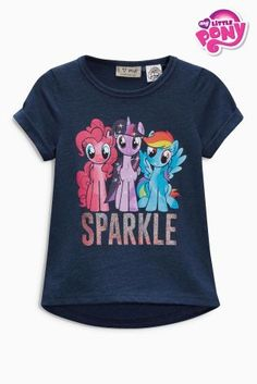 Buy Navy My Little Pony Sparkle T-Shirt (3mths-6yrs) online today at Next: United States of America